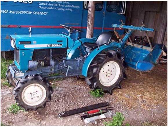 Satoh Tractor Clutch : Tractor
